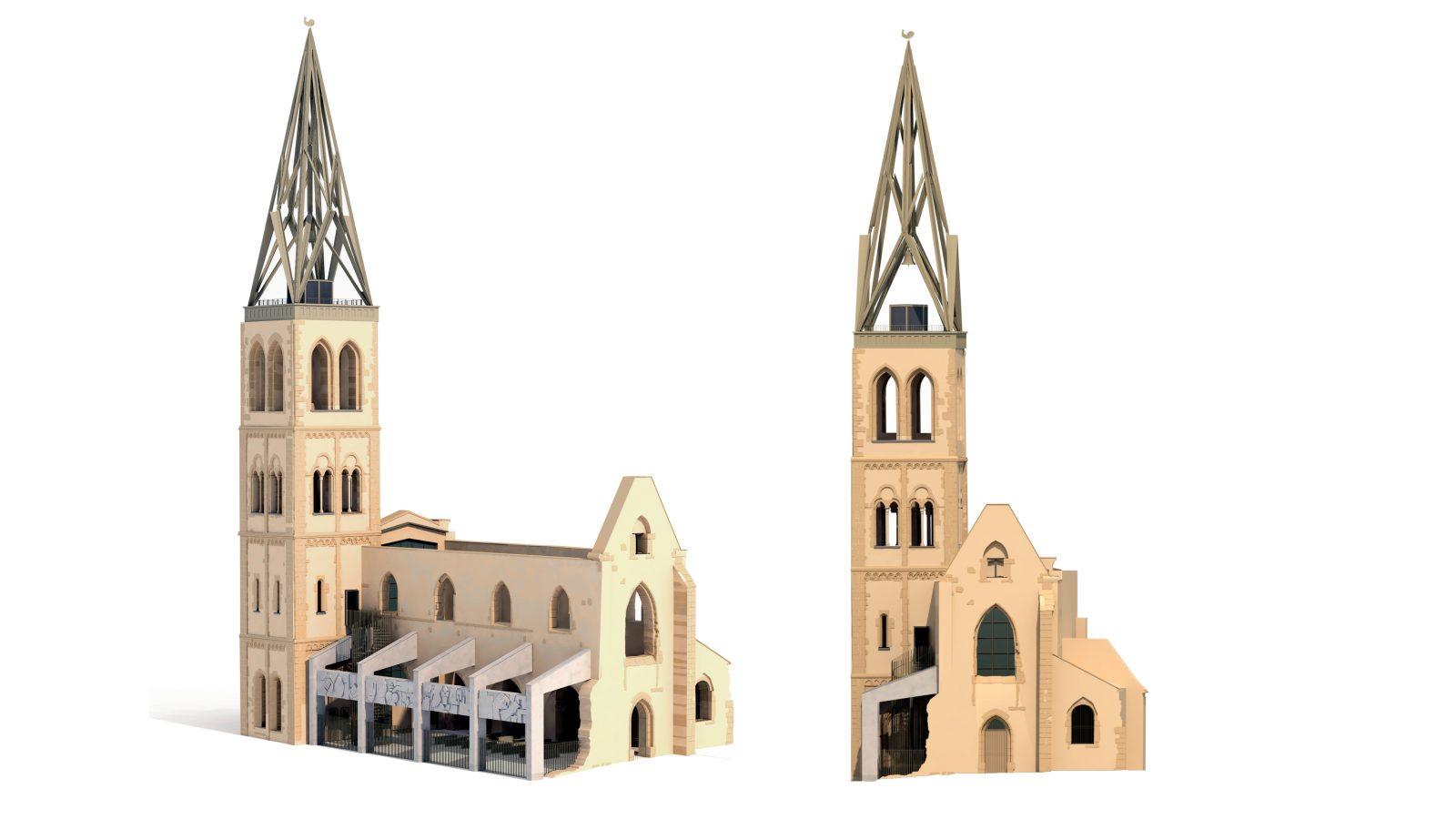 Wettbewerb St. Christoph Mainz